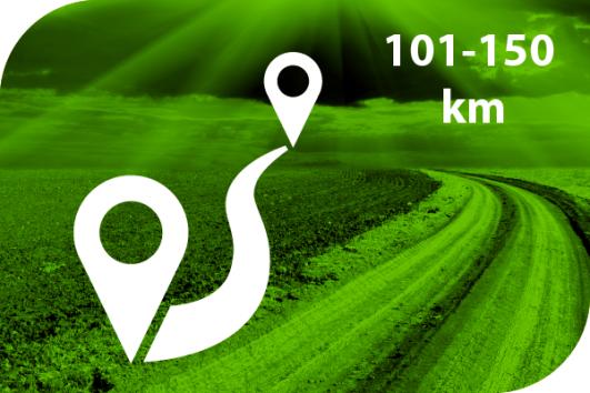 101-150 km